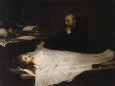 Der Anatom, 1869 by Gabriel Von Max
