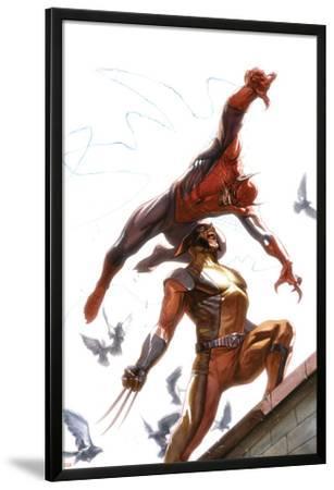 Secret Invasion No.7 Cover: Spider-Man and Wolverine