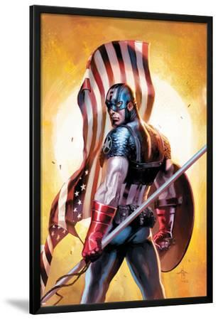 Ultimate Origins No.2 Cover: Captain America
