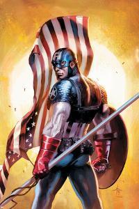 Ultimate Origins No.2 Cover: Captain America by Gabriele DellOtto
