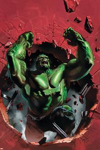 Ultimate Origins No.4 Cover: Hulk by Gabriele DellOtto