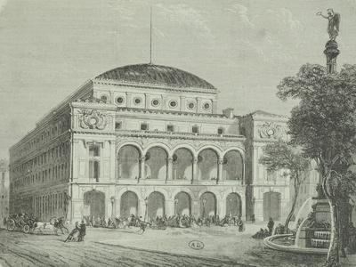 France, Paris, Chatelet Theatre
