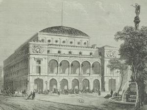 France, Paris, Chatelet Theatre by Gabriele Smargiassi