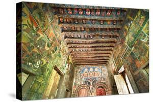 Ancient Wall Paintings in the Interior of the Debre Birhan Selassie Church by Gabrielle and Michel Therin-Weise