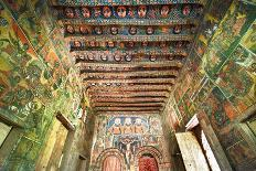 Ancient Wall Paintings in the Interior of the Debre Birhan Selassie Church-Gabrielle and Michel Therin-Weise-Photographic Print