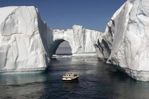 Icebergs in Disko Bay by Gabrielle and Michel Therin-Weise