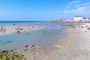 Wimereux Beach, Cote D'Opale, Region Nord-Pas De Calais, France, Europe by Gabrielle and Michel Therin-Weise