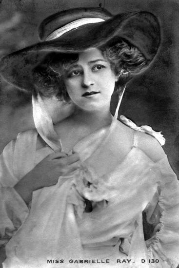 Gabrielle Ray (1883-197), English Actress, Early 20th Century--Giclee Print