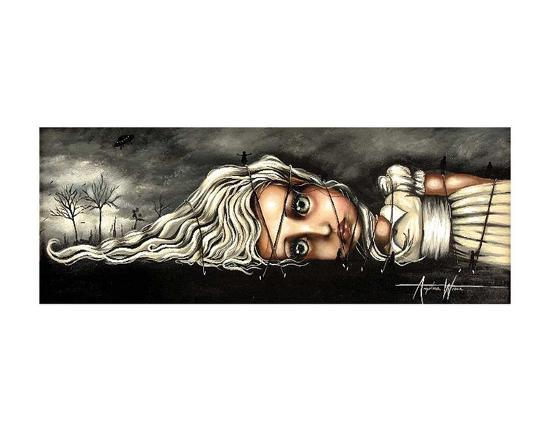 Gabrielle's Travels-Angelina Wrona-Art Print