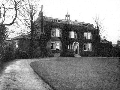 Gadshill, Near Rochester, Purchased by Dickens in 1856--Giclee Print