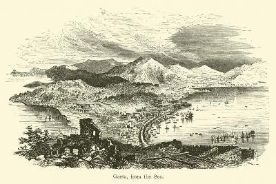 Gaeta, from the Sea--Giclee Print