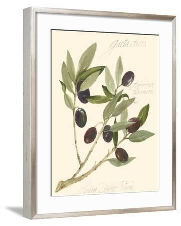 Gaeta Olives-Elissa Della-piana-Framed Art Print