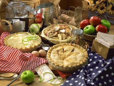 Baking pies