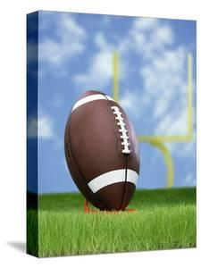 Football and field goal by Gaetano