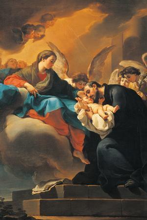 Madonna with Child and St Cajetan