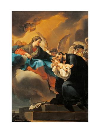 Madonna with Child and St. Cajetan