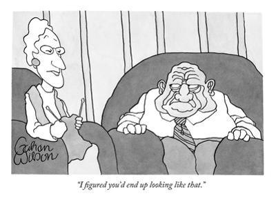"""I figured you'd end up looking like that."" - New Yorker Cartoon by Gahan Wilson"