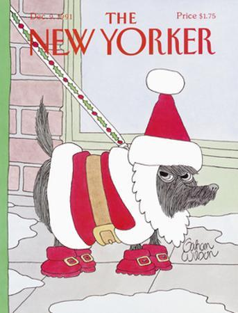 The New Yorker Cover - December 9, 1991 by Gahan Wilson