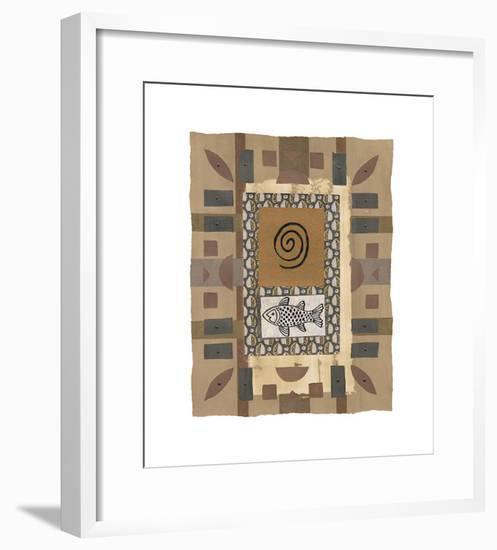Gaia I-P^ G^ Gravele-Framed Giclee Print