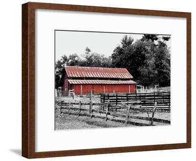 BW Rustic Barn by Gail Peck
