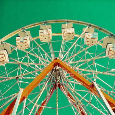 Green Ferris Wheel by Gail Peck
