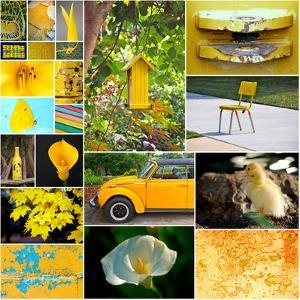 Hello Sunshine Collage by Gail Peck