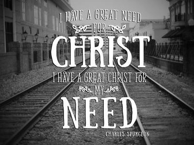 Need Christ