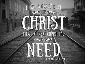 Need Christ by Gail Peck