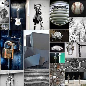 Silver Lining Collage by Gail Peck