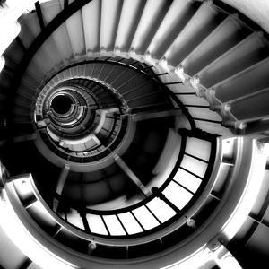 Spiral Staircase by Gail Peck