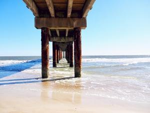 Sunlit Pier I by Gail Peck