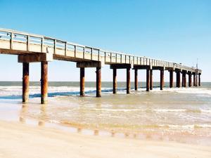 Sunlit Pier II by Gail Peck