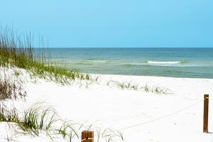 White Sandy Beach II by Gail Peck