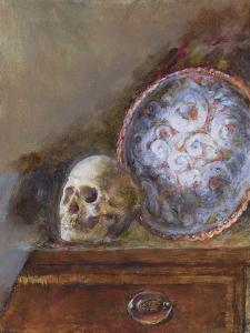 Skull and Plate by Gail Schulman