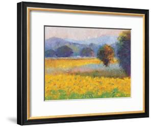 Sunflowers in Provence by Gail Wells-Hess