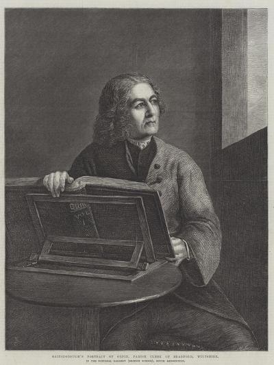 Gainsborough's Portrait of Orpin-Thomas Gainsborough-Giclee Print