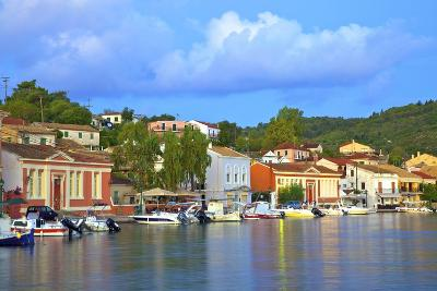 Gaios Harbour, Paxos, the Ionian Islands, Greek Islands, Greece, Europe-Neil Farrin-Photographic Print