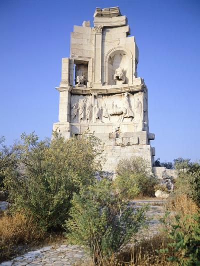 Gaius Julius Antioco Monument, also known with the Name of Philopappou, Athens--Giclee Print