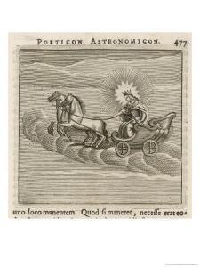 Sun in Chariot, 1681 by Gaius Julius Hyginus