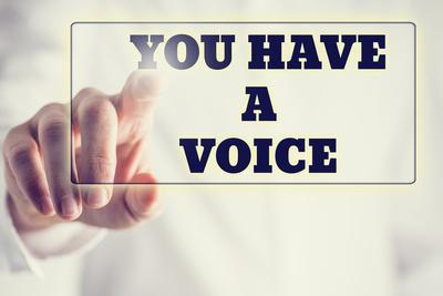 You Have A Voice