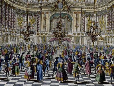 Gala Ball, Colour, Italy, 18th Century, Detail--Giclee Print