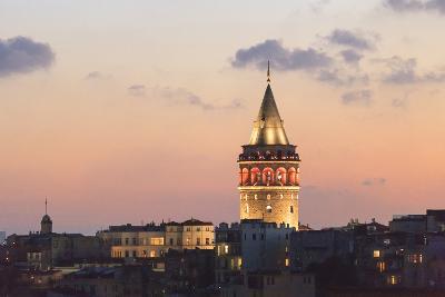 Galata Tower. Istanbul. Turkey-Tom Norring-Photographic Print