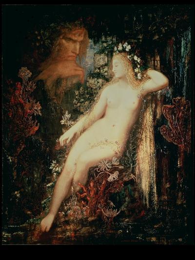 Galatea, 1880-81-Gustave Moreau-Giclee Print