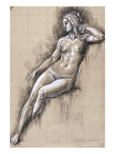 Galatée-Gustave Moreau-Giclee Print
