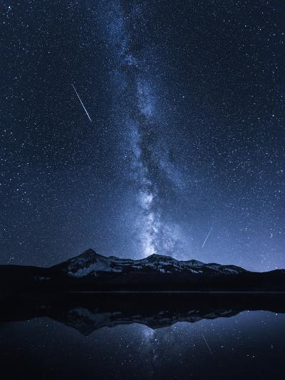 Galaxies Reflection-Toby Harriman-Photographic Print