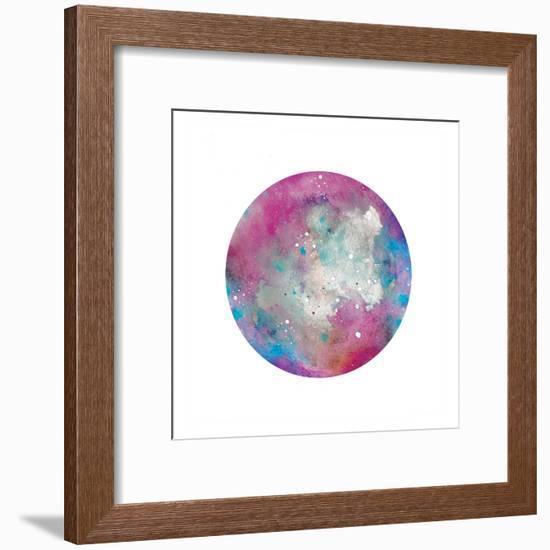 Galaxy 1-Victoria Brown-Framed Art Print