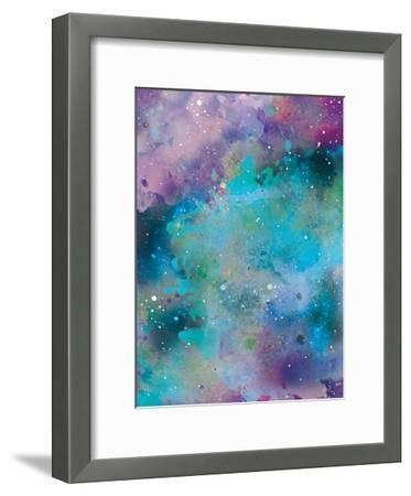 Galaxy 3-Victoria Brown-Framed Art Print