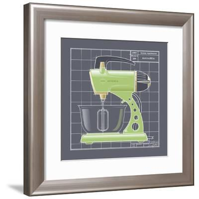 Galaxy Mixer - Lime-Larry Hunter-Framed Giclee Print