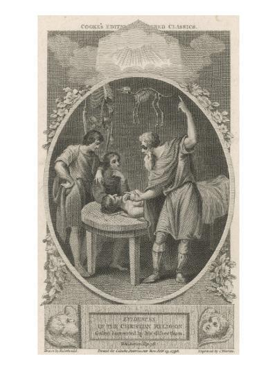 Galen Greek Physician in Rome, Founder of Scientific Physiology--Giclee Print