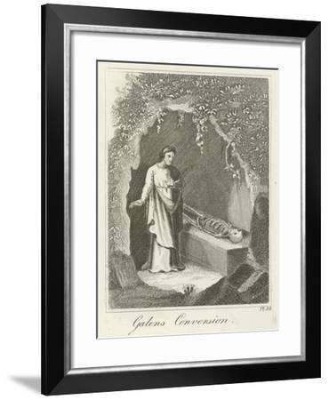 Galens Conversion--Framed Giclee Print